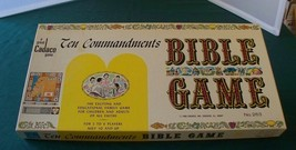 Ten Commandments Bible Game Cadaco 1966 Contents Sealed - $21.00