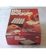 Original Big Boggle With Wooden Cubes Parker Brothers VGC 1979 - $19.00