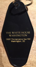 THE WHITE HOUSE keytag - in blue, pink, gold, and black/gold print!  Limited Sup - $5.99
