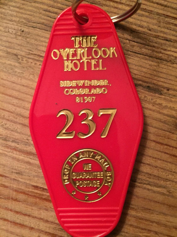 An Overlook Hotel Room Keychain