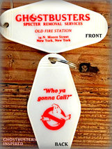 Ghostbusters Inspired Keychain, Key Fob - $5.99
