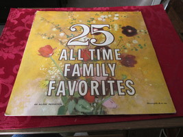 25  All Time Family Favorites Record Album - $5.39