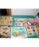 6 Melissa & Doug Wooden Puzzles Set by Circo for Target - $15.99