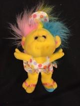 Playskool 1989 Hobnobbins Yellow Doll COUSIN SUNNY Rare Stuffed Animal L... - $11.83