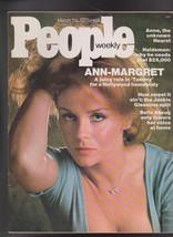 People Magazine Ann-Margret Anne Hearst Bella Abzug March 24 1975  Free S/H - $19.95