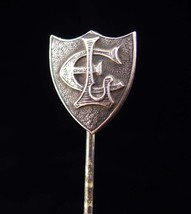 1911 Antique stickpin / sterling silver lapel pin / personalized jewelry... - $125.00