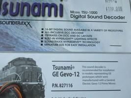 Soundtraxx 827116 TSU-1000 Tsunami GE Gevo-12 Sound Decoder image 2