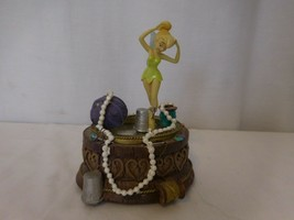 """Disney Tinker Bell Music Box Plays """" You Can Fly """"  Works Rare - $88.13"""