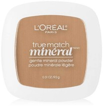 L'Oreal Paris True Match Mineral Pressed Powder, Sand Beige, 0.31 Ounce - $1.98