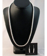 "Navajo 24"" Sterling Native Pearls Bench Beads N... - $499.00"