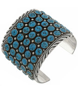 Navajo Sterling Silver Natural Turquoise 5 Row ... - $1,200.00 - $1,399.00