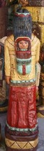 3 foot Cigar Store Indian Maiden & Baby - Native American Frank Gallaghe... - $900.00