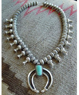Antiqued Sterling Silver Royston Turquoise Squa... - $1,779.00
