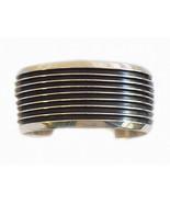 Native American Navajo Sterling Silver Cuff Bra... - $749.00