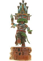 "Hopi Hand Carved 11"" HEMIS Kachina Doll Katsina Sculpture by Milton Howard - $1,100.00"