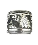 Navajo Tommy Singer (d) Sterling Silver Eagles ... - $1,899.00