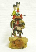 "Hopi Carved 11-13"" Aholi Priest Kachina Katsina Doll Sculpture by Milton Howard - $1,750.00"