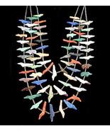 Zuni Indian Hand Carved Multi-Gem Birds Bears 3... - $1,129.00