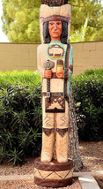 Gallagher 5' Cigar Store Indian THE SCOUT 5 ft Wooden Sculpture Native A... - $1,325.00