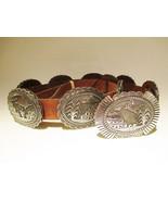 Sterling Silver STORYTELLER Concho Belt by Nati... - $4,200.00