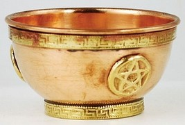 Copper Pentacle Bowl - Star - $19.99