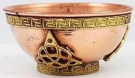 Copper Triquetra Bowl - Endlessness - $19.99