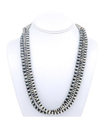 Antiqued Sterling NATIVE PEARLS Bench Beads Nec... - $499.00