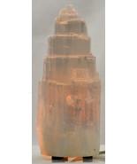 "WHITE SELENITE LAMP - ELECTRIC   6"" Tall - $32.99"