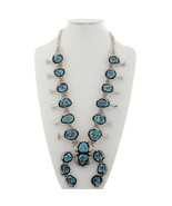 Navajo Natural Sleeping Beauty Turquoise Squash... - $2,450.00