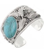 Native Navajo BIG BOY Sterling Silver Turquoise... - $998.00