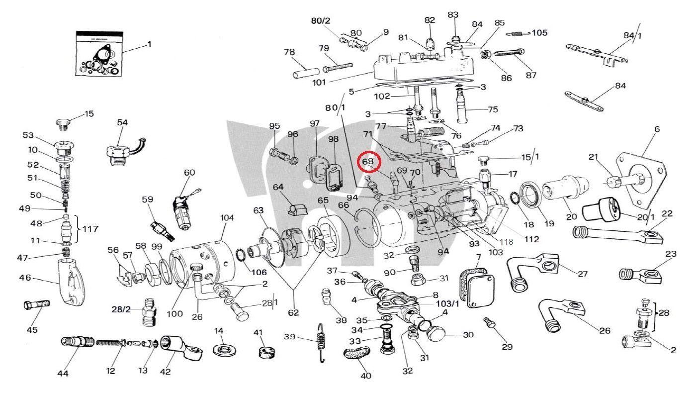 cav lucas dpa fuel metering valve delphi diesel injection pump dps genuine oem