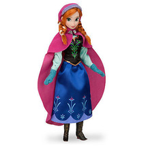 "Disney Store Authentic Frozen Anna Play Toy Doll Figure 12"" New in Box - $27.22"