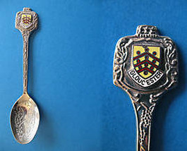 Gloucester England Souvenir Collector Spoon Collectible Uk. United Kingdom - $6.95