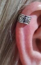 Cuori Amore Orecchini Ear Cuff Argento Sterling... - $18.05