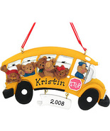 Bears in School Bus ornament - $14.99