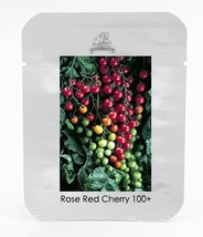Original Pack 100+ Seeds Rose Red Cherry Tomato (T8), Organic Vegetable ... - $6.99