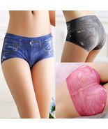 Women's Lady Sexy  Shorts Imitation Jean Briefs... - $22.84