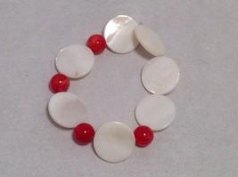 NEW Handmade Red Beaded Bracelet   image 4