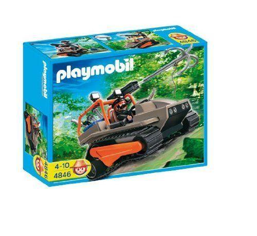 Playmobil Treasure Hunters Treasure Robber's Crawler #4846 New Toy Figure NIB - $28.06