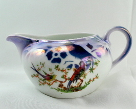 Celebrate Germany lustre creamer oriental bird design Geo Borgfeldt - $15.00