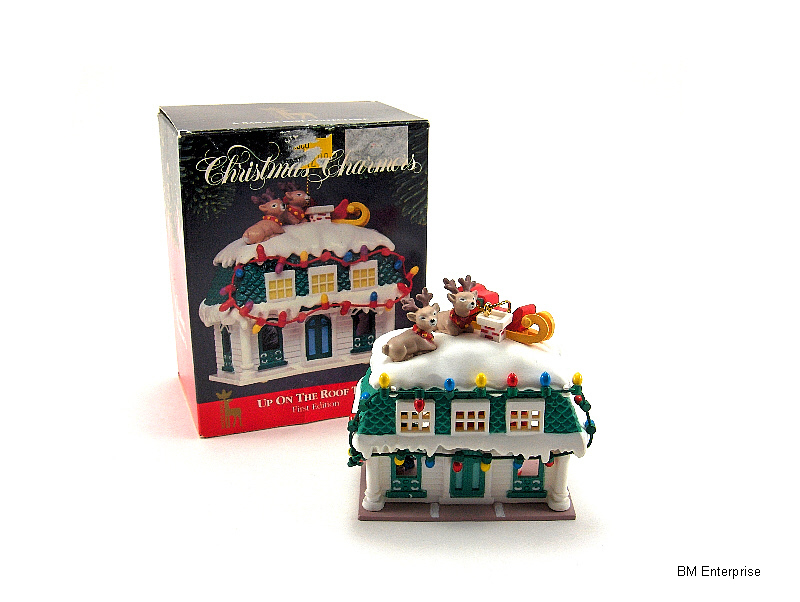 Primary image for Christmas Charmers Up On The Roof Top Ornament