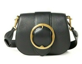 Polo Ralph Lauren Lennox Wide Strap Crossbody Shoulder Bag Italian Leath... - $138.59