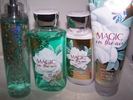 4 Pc Bath & Body Works Magic in the Air Gift Set- Shower Gel, Body Lotio... - $28.99