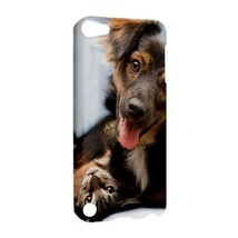 NEW IPOD 5 TOUCH CASE HARD SHELL COVER Friendly Cat and Dog - $21.99