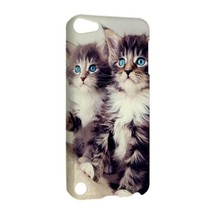 NEW IPOD 5 TOUCH CASE HARD SHELL COVER Two Beautiful Eyes Kittens Cat - $21.99
