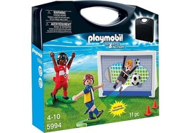 Playmobil Carrying Case Soccer playset 5994 new in box - $20.42