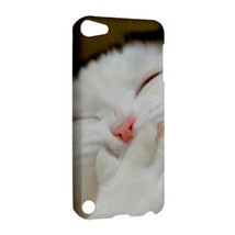 NEW IPOD 5 TOUCH CASE HARD SHELL COVER Laughing Cat - $21.99
