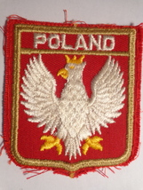 POLAND CLOTH PATCH (#1851) - $11.99