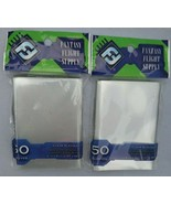 Fantasy flight supply clear sleeves standard American board game size 50... - $17.02