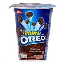 67g Nabisco Oreo Mini Size Chocolate Choco Cream Sandwich Cookies Cup FR... - $8.99